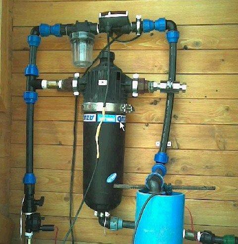 Montaj filtru deepurare apa potabila