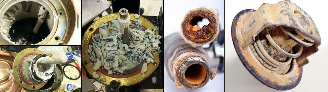 fitinguri colmatate la teava si centrala termica